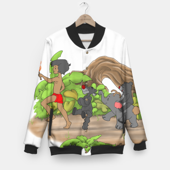 Thumbnail image of Red Flower March Baseball Jacket, Live Heroes