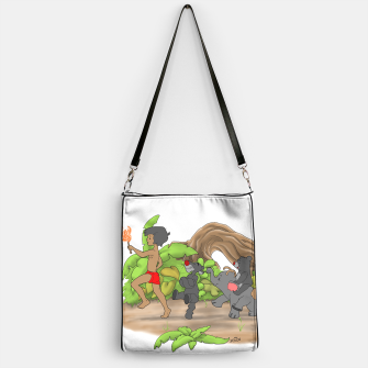 Thumbnail image of Red Flower March Handbag, Live Heroes