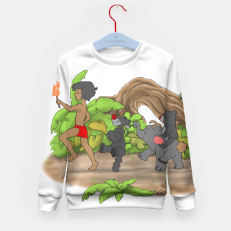Thumbnail image of Red Flower March Kid's Sweater, Live Heroes