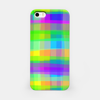 Thumbnail image of Psychedelic Faux Fabric Texture Pattern iPhone Case, Live Heroes