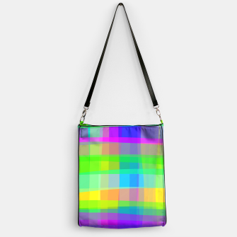 Thumbnail image of Psychedelic Faux Fabric Texture Pattern Handbag, Live Heroes