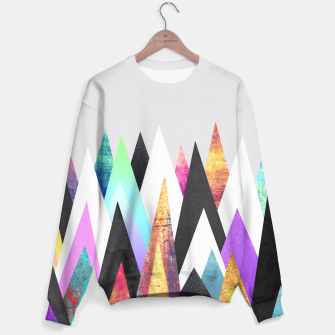 Thumbnail image of Colorful Peaks Sweater, Live Heroes