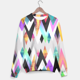 Thumbnail image of Colorful Peaks 2 Sweater, Live Heroes