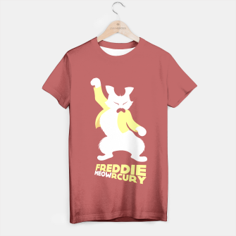 Thumbnail image of Freddie MEOWrcury T-shirt, Live Heroes