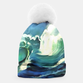 Miniaturka Going With The Flow Ocean Waves Beanie, Live Heroes