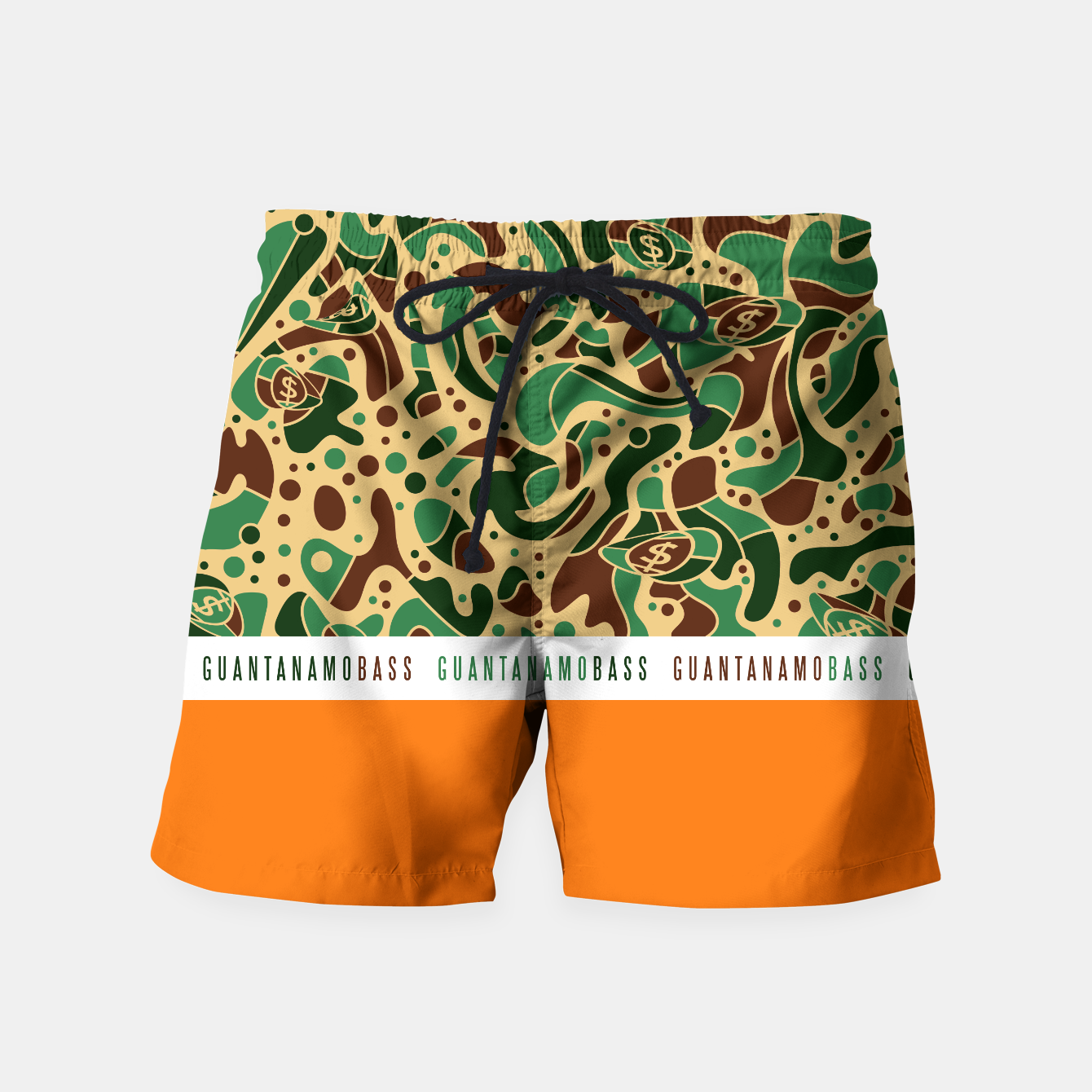 Image of Sprawl Classic Camo Bass - Swimshorts - Live Heroes