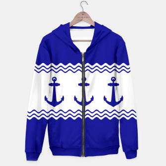 Thumbnail image of Coastal Sailing Anchor Hoodie, Live Heroes