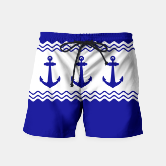 Thumbnail image of Coastal Sailing Anchor Swim Shorts, Live Heroes