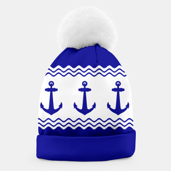 Thumbnail image of Coastal Sailing Anchor Beanie, Live Heroes