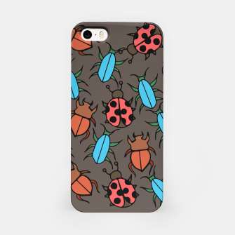 Thumbnail image of Bug Ladybugs and Beetles Lover iPhone Case, Live Heroes