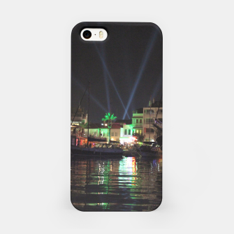 Miniaturka Marmaris Marina Nightscape iPhone Case, Live Heroes