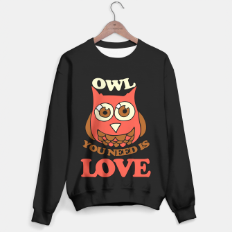 Miniaturka Owl you need is LOVE retro  Sweater, Live Heroes