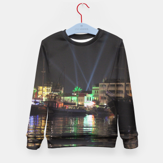 Miniaturka Marmaris Marina Nightscape Kid's Sweater, Live Heroes