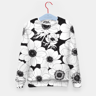 Thumbnail image of Anemones Kid's Sweater, Live Heroes