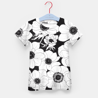 Thumbnail image of Anemones Kid's T-shirt, Live Heroes