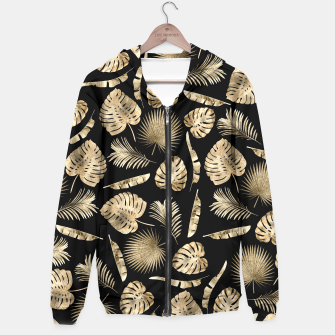 Thumbnail image of Modern gold tropical leaves pattern, Live Heroes