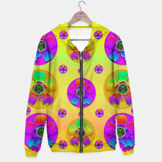 Thumbnail image of Floral Love And Why Not Hoodie, Live Heroes