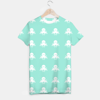 Thumbnail image of plural octopus 3 Camiseta, Live Heroes