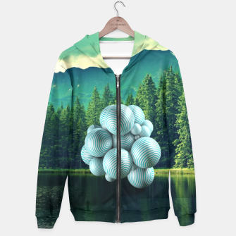 Thumbnail image of Nature illusion  Hoodie, Live Heroes