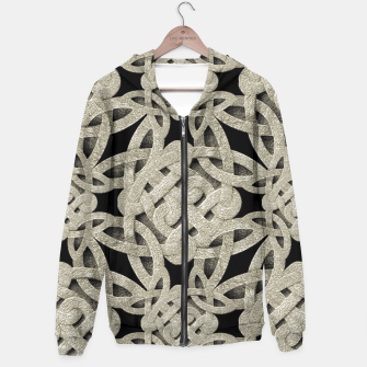 Thumbnail image of Interlace Arabesque Pattern Hoodie, Live Heroes