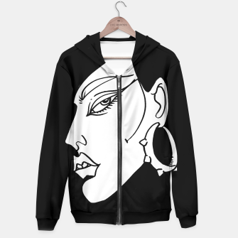Thumbnail image of Into Black Hoodie, Live Heroes
