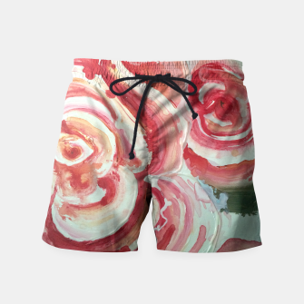 Thumbnail image of Flowers for My Sister Swim Shorts, Live Heroes