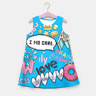 Miniatur Tumblr By Vangz Girl's Summer Dress, Live Heroes