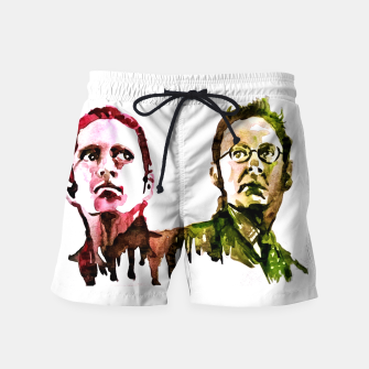 Thumbnail image of Reese and Finch Person of interest Swim Shorts, Live Heroes