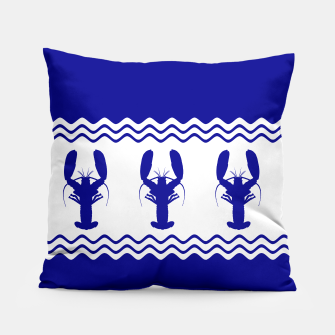 Thumbnail image of Coastal Lobster Pillow, Live Heroes