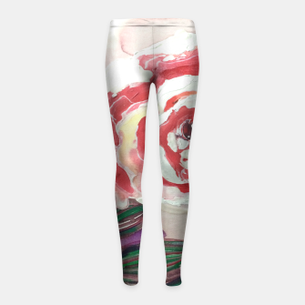 Thumbnail image of Mother's Day Girl's Leggings, Live Heroes