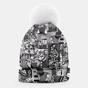 Miniatur fusion_cosmicRAY Beanie, Live Heroes