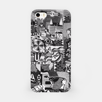 Miniatur fusion_cosmicRAY iPhone Case, Live Heroes