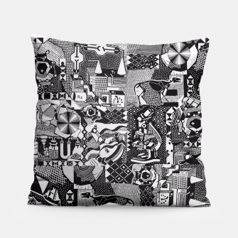 Miniatur fusion_cosmicRAY Pillow, Live Heroes