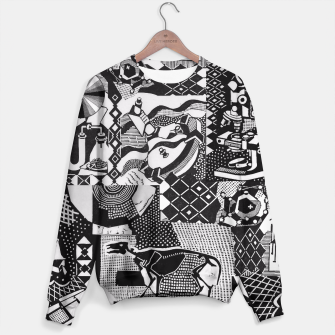 Miniatur fusion_cosmicRAY Sweater, Live Heroes