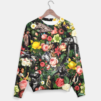 Thumbnail image of 1977-2016 Starwars and Floral Pattern Sweater, Live Heroes