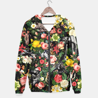 Thumbnail image of 1977-2016 Starwars and Floral Pattern Hoodie, Live Heroes