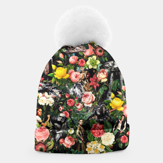 Thumbnail image of 1977-2016 Starwars and Floral Pattern Beanie, Live Heroes