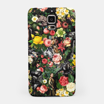 Thumbnail image of 1977-2016 Starwars and Floral Pattern Samsung Case, Live Heroes