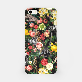 Thumbnail image of 1977-2016 Starwars and Floral Pattern iPhone Case, Live Heroes