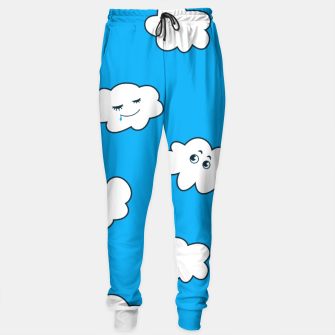 Funny Clouds Sweatpants thumbnail image