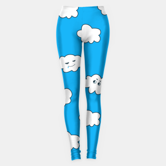 Funny Clouds Leggings thumbnail image