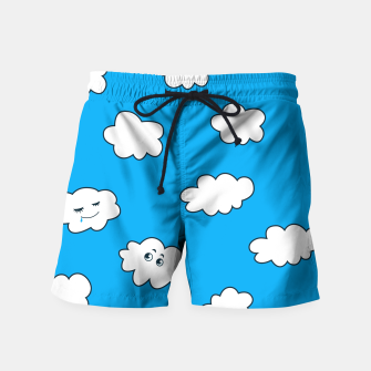 Funny Clouds Swim Shorts thumbnail image