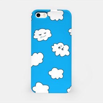 Funny Clouds iPhone Case thumbnail image