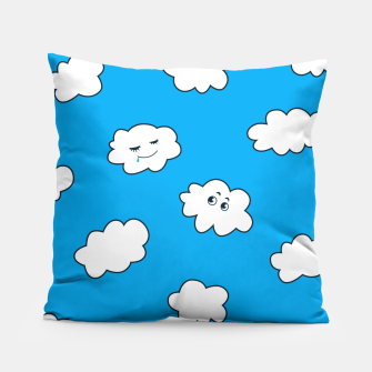 Funny Clouds Pillow thumbnail image