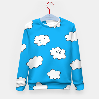 Funny Clouds Kid's Sweater thumbnail image