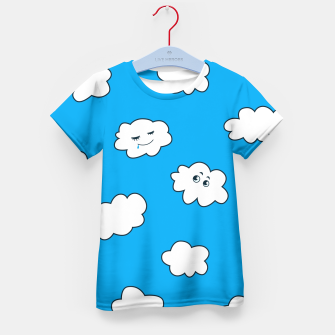 Funny Clouds Kid's T-shirt thumbnail image