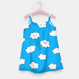 Funny Clouds Girl's Dress thumbnail image