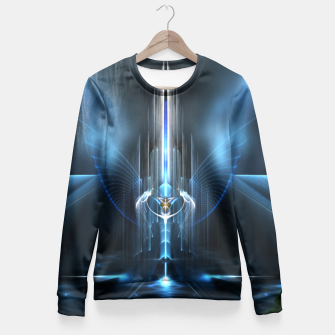 Thumbnail image of The Sanctuary Of Light Fitted Waist Sweater, Live Heroes