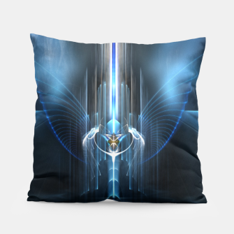Thumbnail image of The Sanctuary Of Light Pillow, Live Heroes