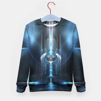 Thumbnail image of The Sanctuary Of Light Kid's Sweater, Live Heroes